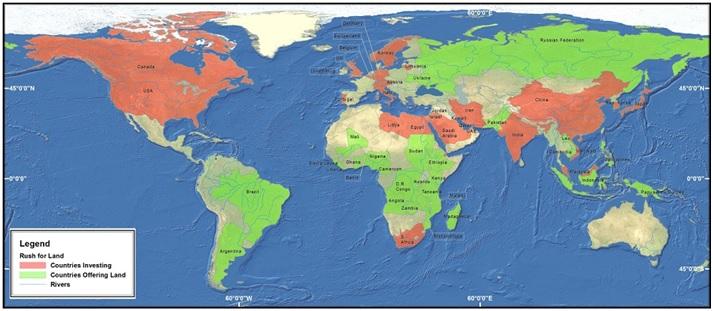 land grap map