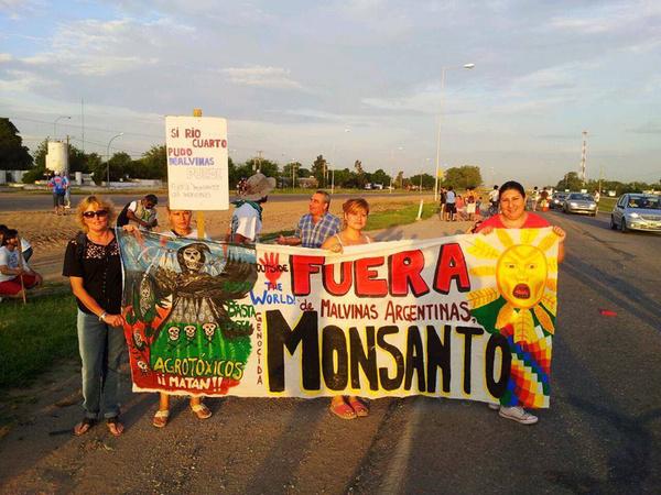protest argentina toxins